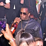 Diddy threw a Thanksgiving party at Bamboo Miami.