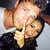 "Nina also reportedly ""made out"" with Derek Theler at another party (we really hope this is true, because he is crazy hot)."
