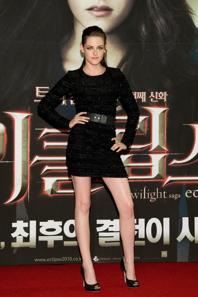 Pictures of Kristen Stewart And Taylor Lautner at The South Korean Premiere of Eclipse