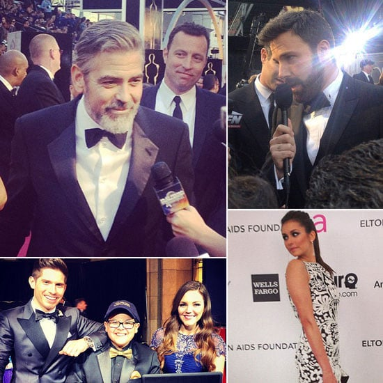 Go Behind the Scenes With Our Oscars Instagram Diary!