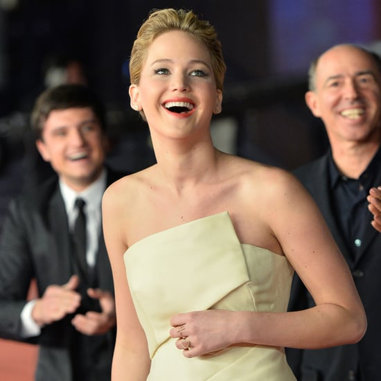Jennifer Lawrence at Catching Fire Premiere in Rome