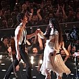 Shawn Mendes and Camila Cabello at the 2019 MTV VMAs