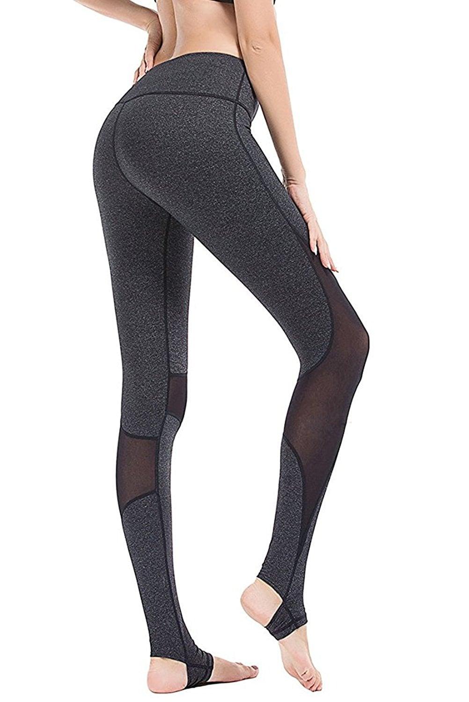 Yianna Yoga Pants Women S Power Flex Barre Stirrup Leggings 20 Best Yoga Pants You Can Buy On Amazon Starting At Just 14 Popsugar Fitness Photo 12