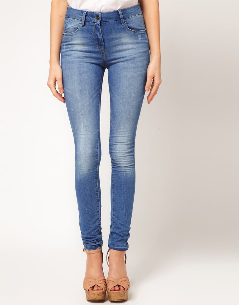 ASOS Supersoft Ultra Skinny Jeans in Light Wash #11 ($61)
