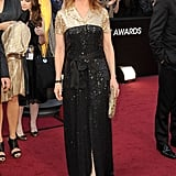 Melissa Leo sparkled at the 2012 Oscars.