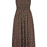 Dôen Jasmine Shirred Floral-Print Cotton-Poplin Maxi Dress ($248).
