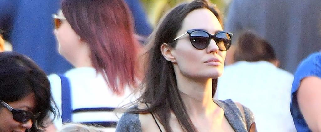 Angelina Jolie's Wearing the Strappy Summer Sandals You've Been Eyeing For Years