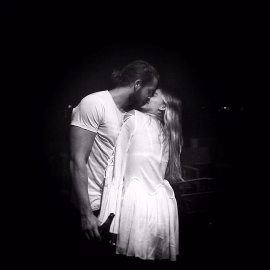Margot Robbie Kissing Tom Ackerley Instagram Photo Jan. 2017