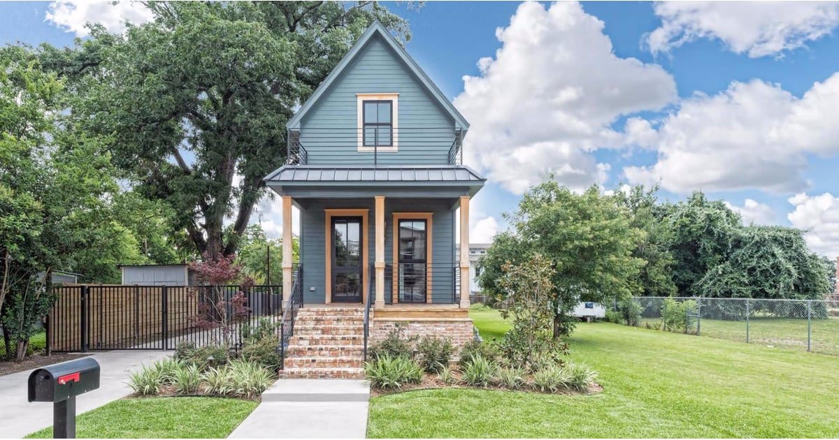 fixer upper shotgun house is for sale popsugar home. Black Bedroom Furniture Sets. Home Design Ideas