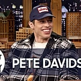 June 2018: Pete Confirms His Engagement to Ariana on The Tonight Show