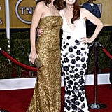 Julianne Moore linked up with Jennifer Garner on the red carpet.