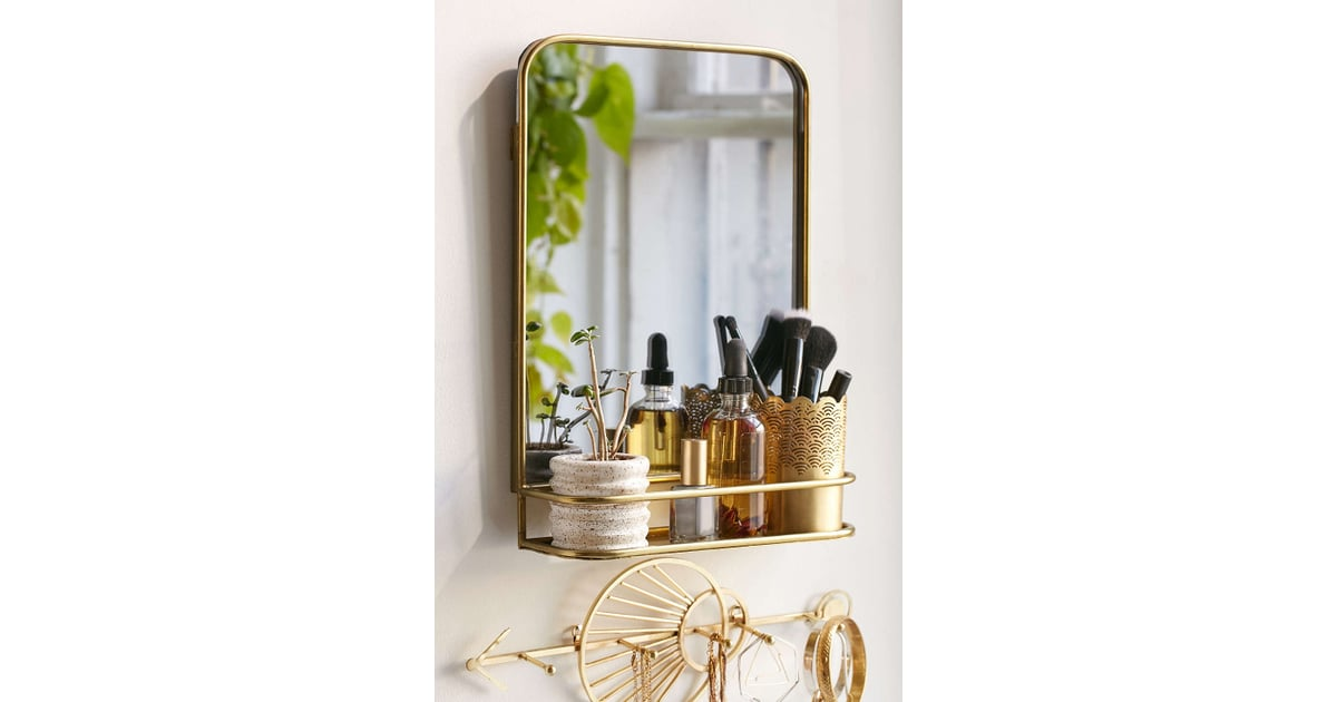Urban Outfitters Edith Mirror Shelf January Home Organisation Must Haves