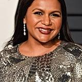 Mindy Kaling at the 2019 Vanity Fair Oscars Party
