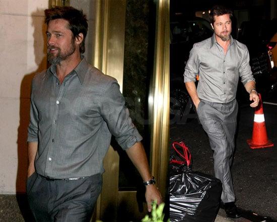 Photos of Brad Pitt in LAX