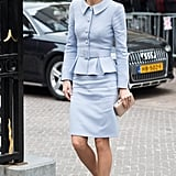 She Wore Her Catherine Walker Skirt Suit From Last Year
