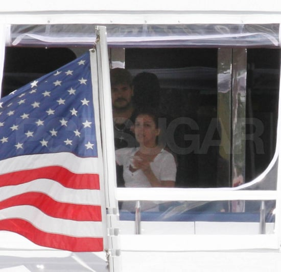 Pictures of Rumored Couple Eduardo Cruz and Eva Longoria on a Yacht