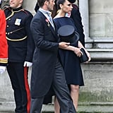 Victoria Beckham's Outfits at the Royal Weddings
