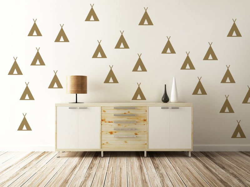 Get the wallpaper look without wallpaper permanence.