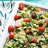 Side Dish: Marinated Eggplant Salad With Tomatoes and Basil