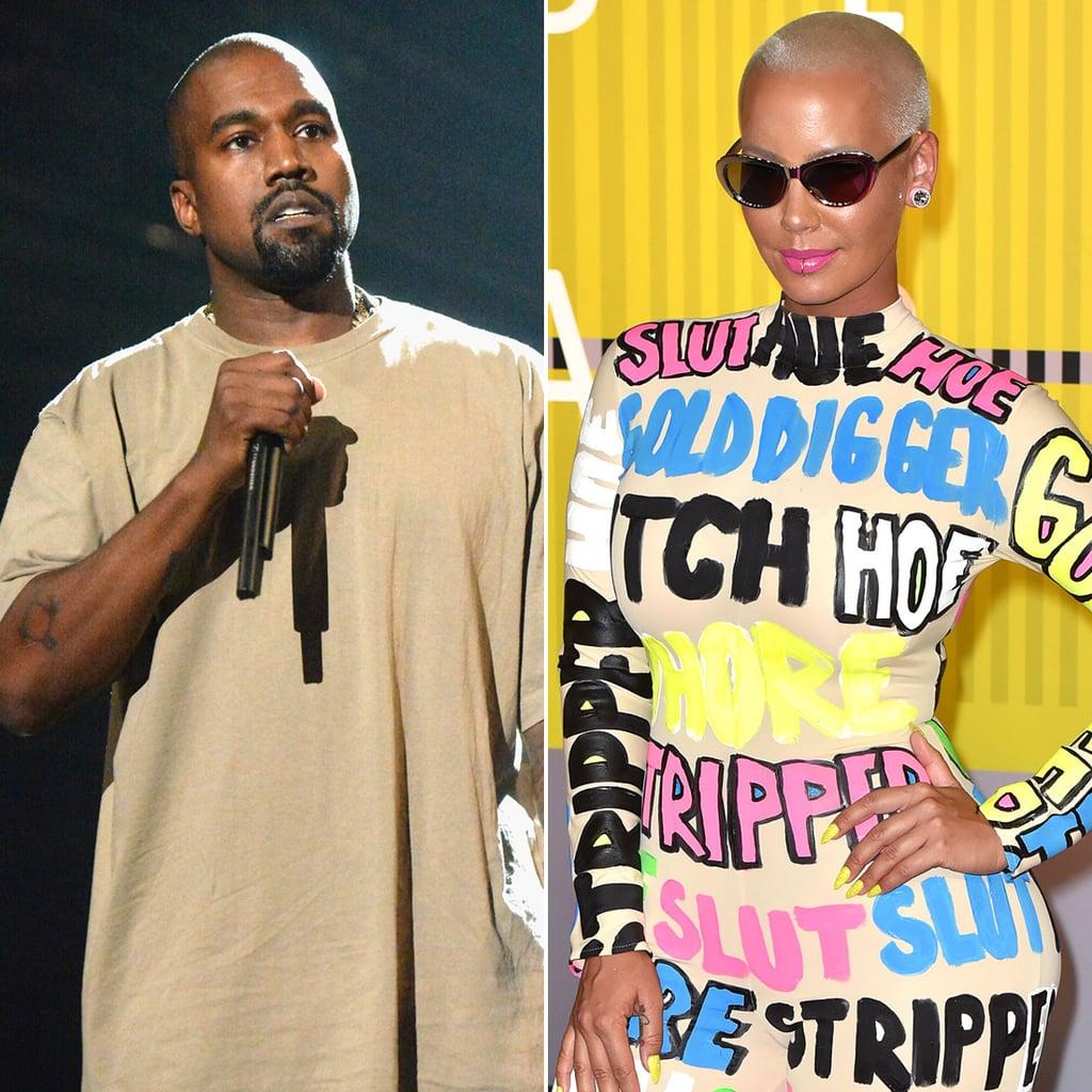 Kanye West and Amber Rose