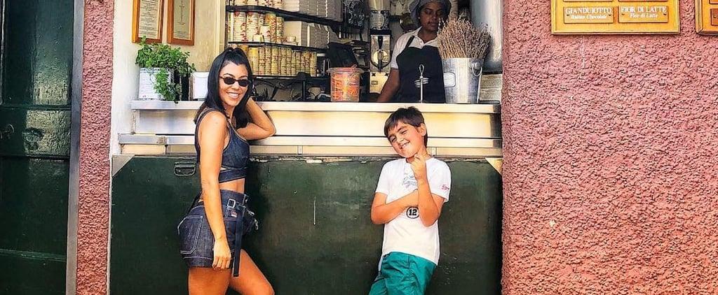 Kourtney Kardashian Says Mason Has a Skincare Routine