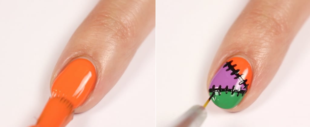 Sally Hansen x Sour Patch Halloween Nail Art How-To