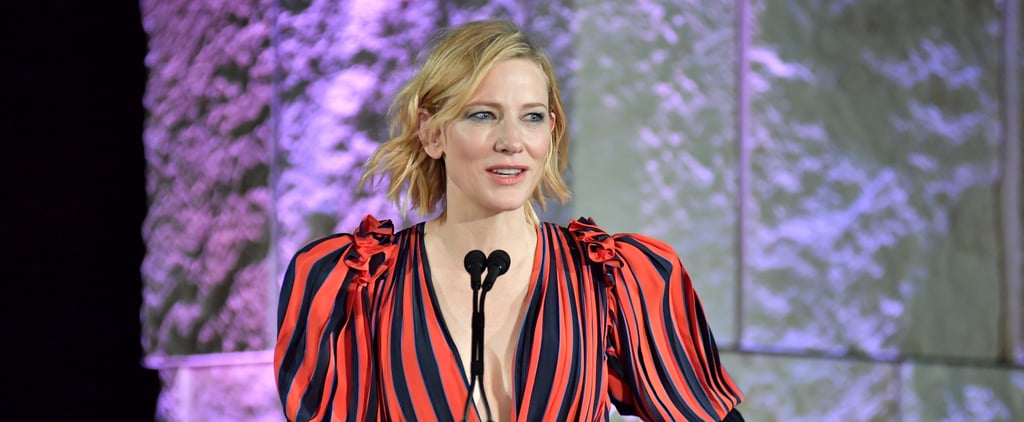 Cate Blanchett Speech at InStyle Awards 2017