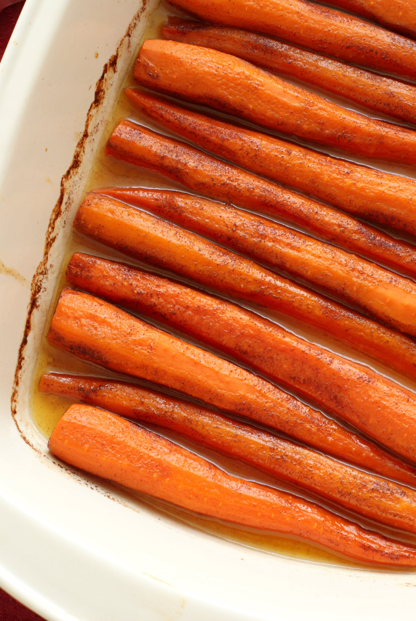 Cinnamon Butter Baked Carrots
