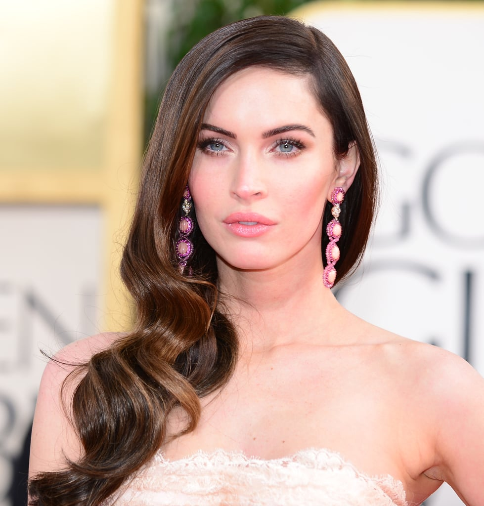 megan fox golden globes jewelry and accessories 2013