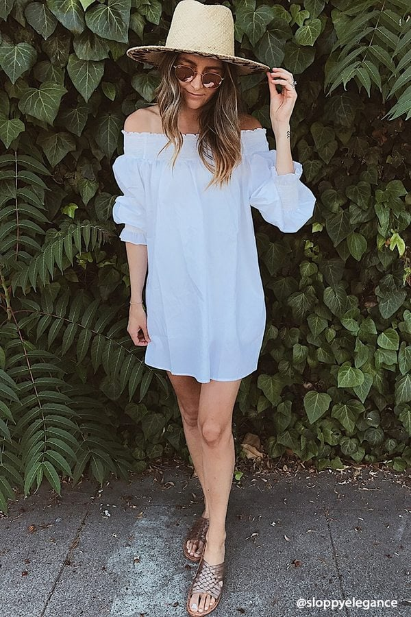 Forever 21 Off-the-Shoulder Dress