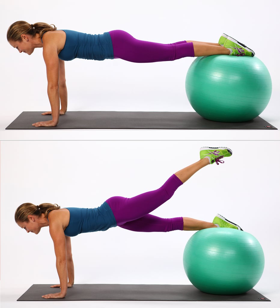 Stability Ball Side Lift: Best Exercises For Saddlebags