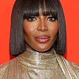 Naomi Campbell's Blunt Bob With Bangs
