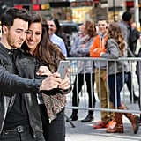 POPSUGAR: How are you guys spending National Lover's Day? Kevin Jonas: It dawned on us that this was happening today, so it's going to be a date night. I'll take my girls — my daughter as well — to dinner.     PS: I was surprised that you guys have been married for almost six years. Time flies! Six years in, what's your favorite thing about marriage? KJ: It's still new and fresh every day. There are times where you are the happiest you can be, and there are times where you're just in a mood. But somehow it always works out — you work it out together. Now that we have a daughter, life does change rapidly. But it's been a lot of fun. And I'm continually learning about [Danielle], which is great.  Danielle Jonas: After a certain point, when we were dating, we knew that we were meant to be together. We wanted to get married. The funny thing is, [we] still feel that way.