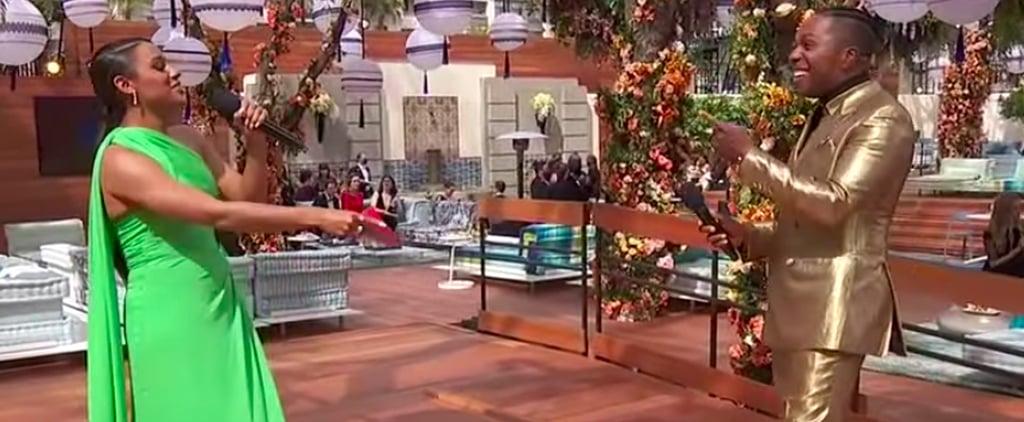 Leslie Odom Jr. and Ariana DeBose's Oscars Hamilton Reunion