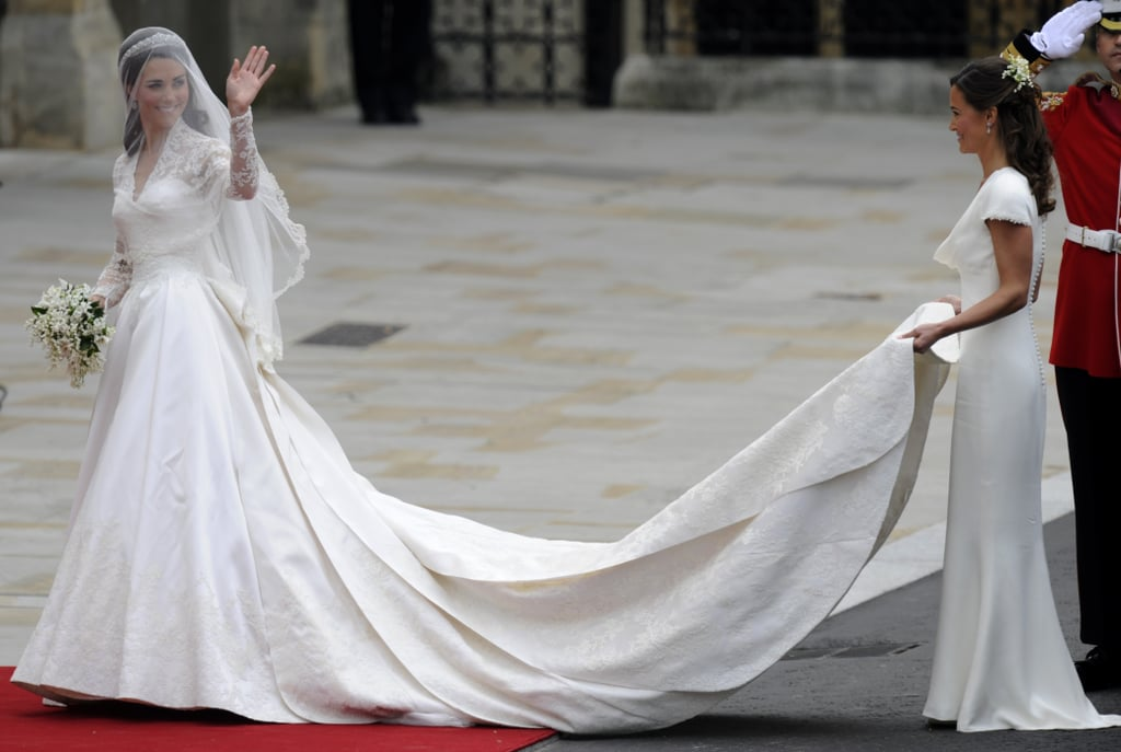 Kate Heading Into Westminster Abbey, 2011