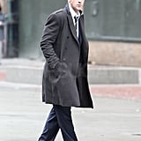 Ryan Gosling Hangs With George Clooney While Olivia Wilde Spends Time With Justin Timberlake