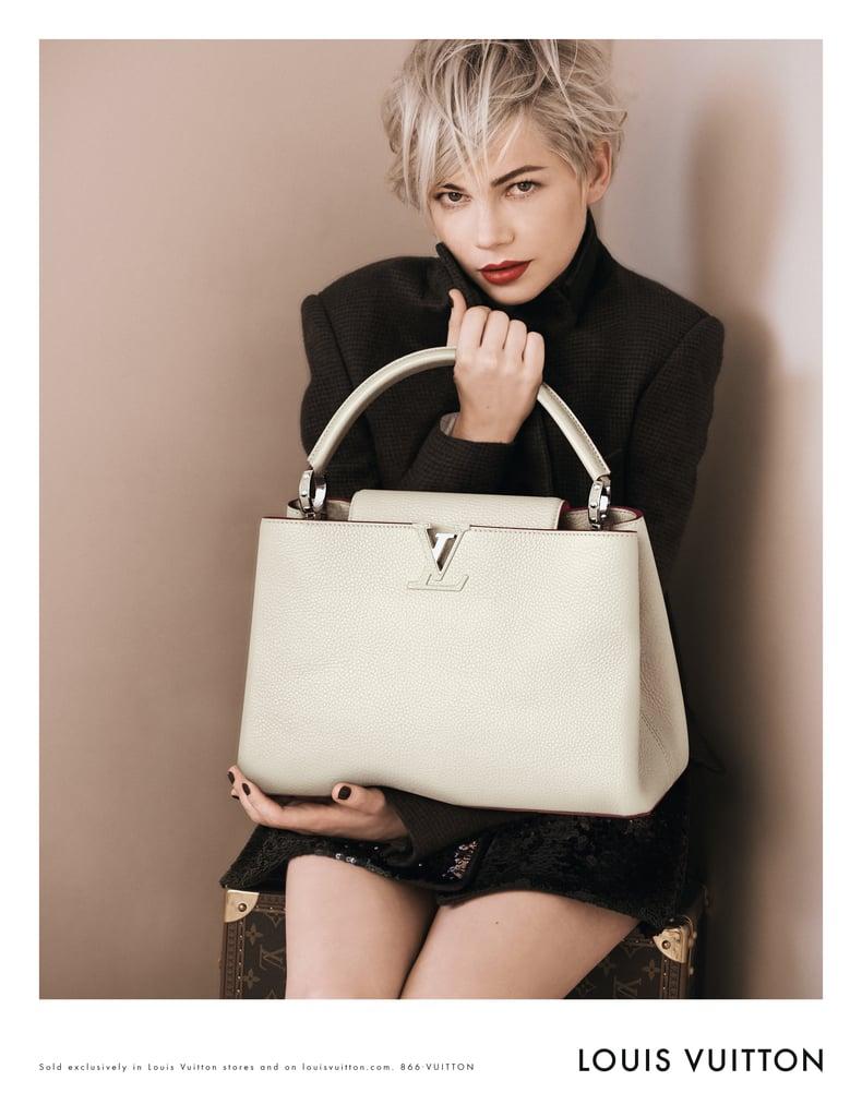 1669a778a2 Michelle Williams Full Louis Vuitton Campaign   Pictures   POPSUGAR ...
