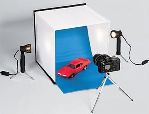 Tabletop Photo Studio Perfect For Taking Pictures of Items To Sell On Craigslist, eBay