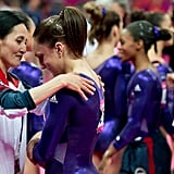 Jordyn Wieber was dejected after failing to qualify for the individual all-around gymnastics competition.
