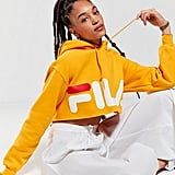 Fila + UO Cropped Hoodie Sweatshirt