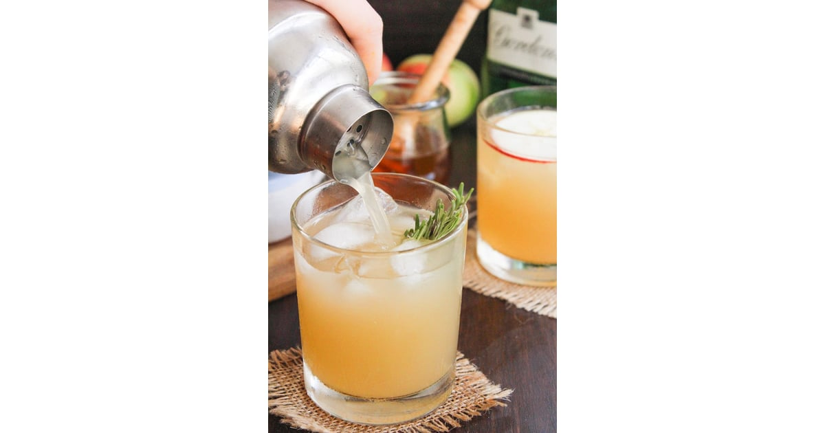 Apple Bees Knees Cocktail Best Thanksgiving Cocktail Recipes 2019 Popsugar Food Photo 38