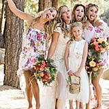 Colorful Lake Tahoe Wedding