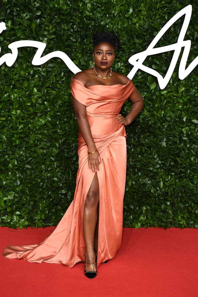 Clara Amfo at the British Fashion Awards 2019