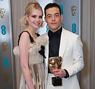 Photographic Proof That Rami Malek and Lucy Boynton are Award Season's Cutest Couple