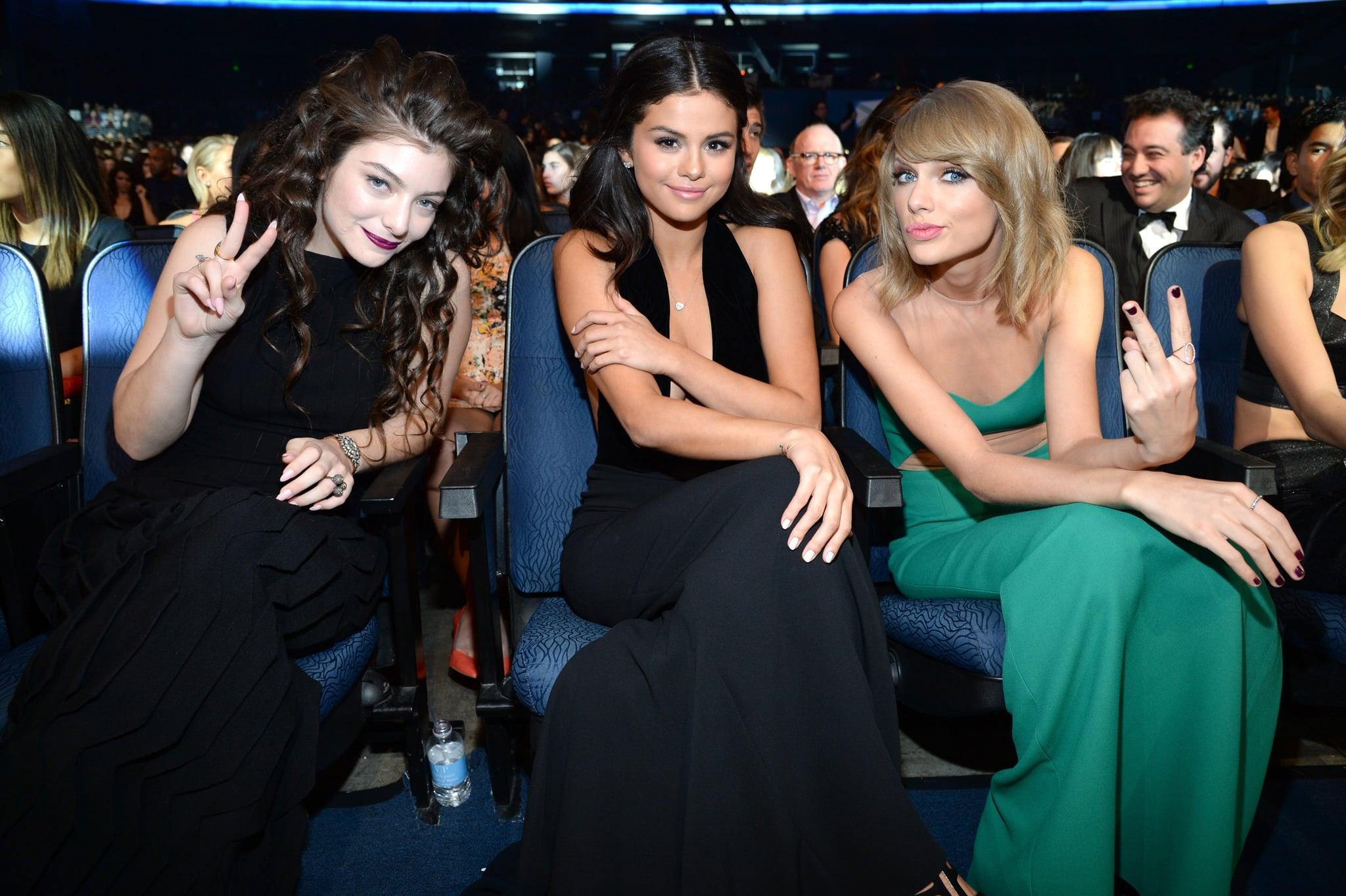 Selena Gómez y Lorde