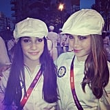 McKayla Maroney and Aly Raisman participated in the closing ceremonies. Source: Instagram user mckaylamaroney