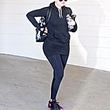 Khloe Kardashian is back at it with another workout to add to her week.