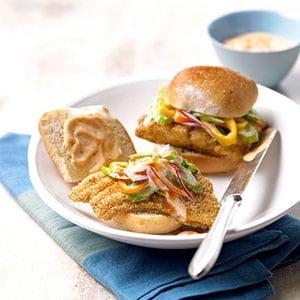 Easy Recipe for Fried Catfish Sandwich