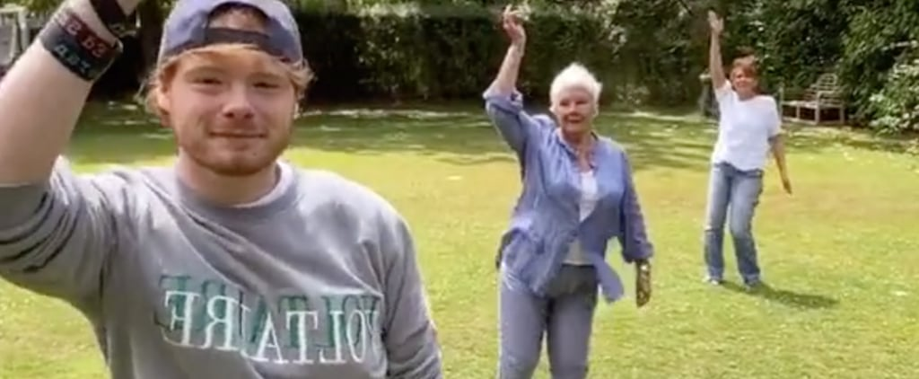 Judi Dench Dancing With Family on TikTok Video