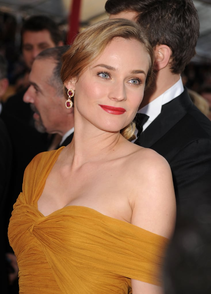 Photos of Diane Kruger and Joshua Jackson at the 2010 Screen Actors Guild Awards
